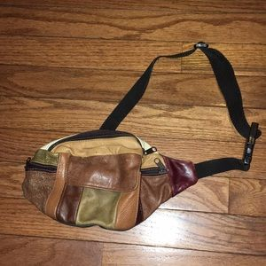 Handbags - Vintage Leather Fanny Pack 🔥😛